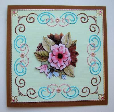 Bloemen borduur 3