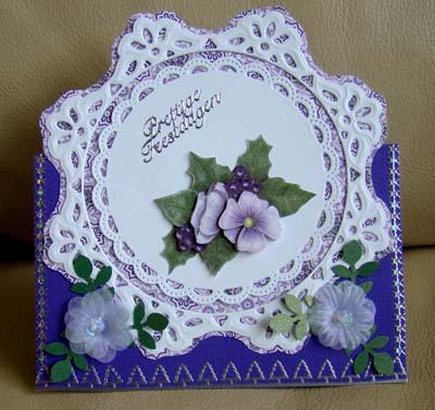 Paarse bloem 1