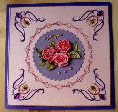 Roosjes borduur