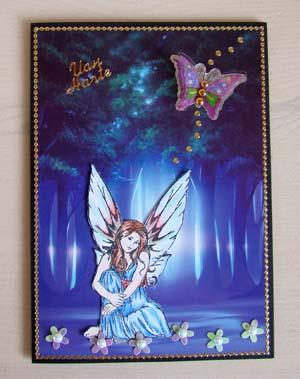 Stempel fairy 1
