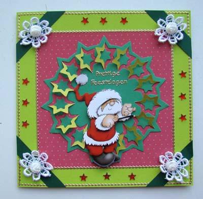 Lace mal kerst 3