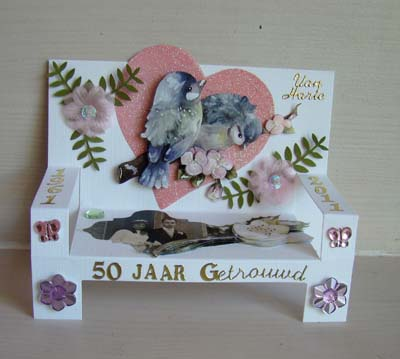 Trouwkaart 50 jaar 1
