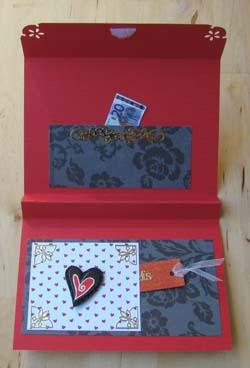 Geld envelop open 2