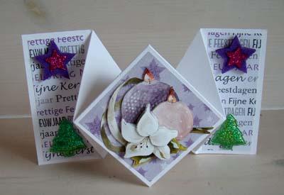 Vouwkaart kerst 1