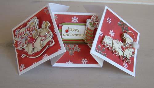 Vouwkaart kerst 2