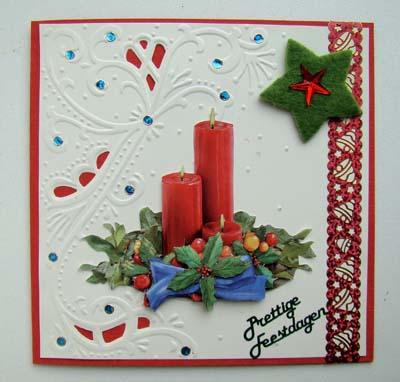 Kerststukje 1