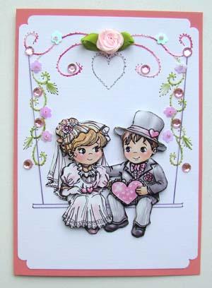 Huwelijk schommel 2