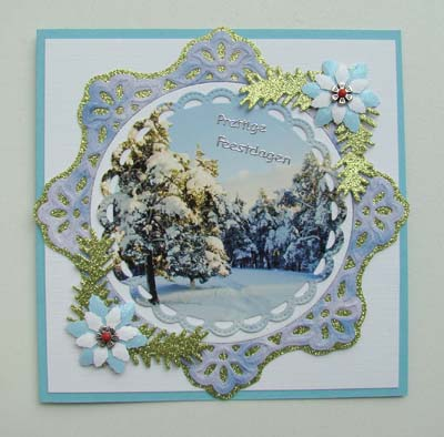 Kerstlandschap 1