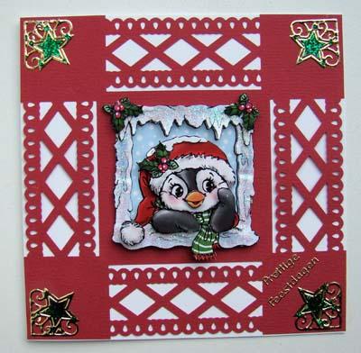 Ponskaart kerst 2