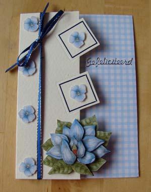 Blauwe bloem 1
