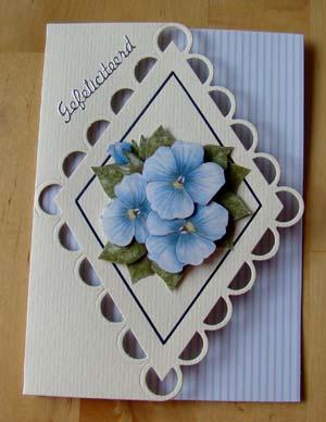 Blauwe bloem 2