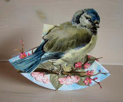Schommelkaart vogel