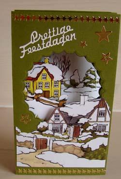 Doorkijk kaart kerst 7