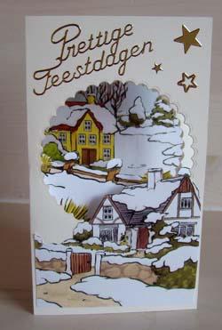 Doorkijk kaart kerst 9