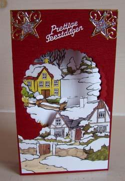 Doorkijk kaart kerst 12