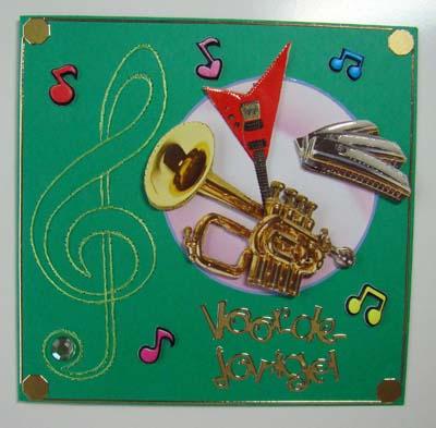 Muziek kaart