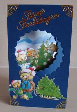 Doorkijk kaart kerst 20