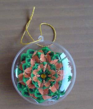Mandala kerstbal 2