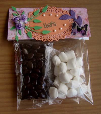 Zakje chocolade/mint 2