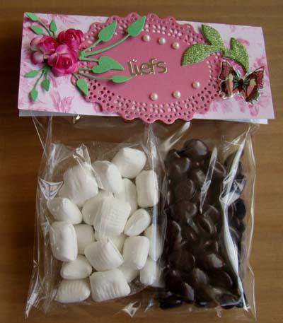 Zakje chocolade/mint 3