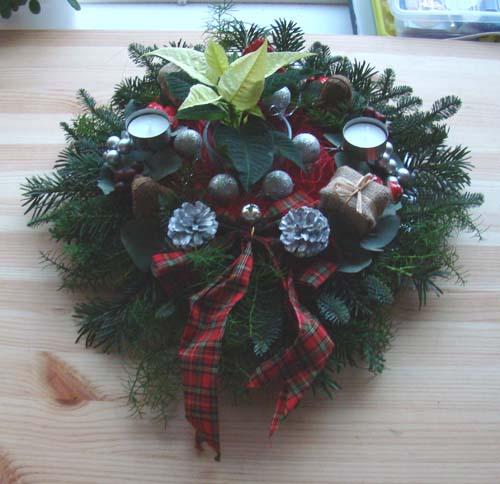 Kerststukje 2011-2