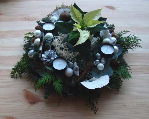 Kerststukje 2011-3