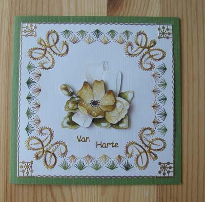 Bloemen borduur 2