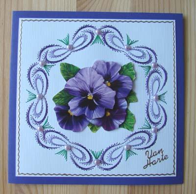 Bloemen borduur 4