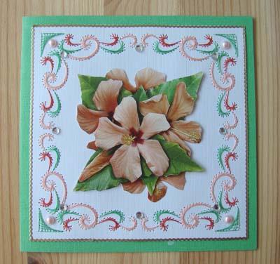 Bloemen borduur 5