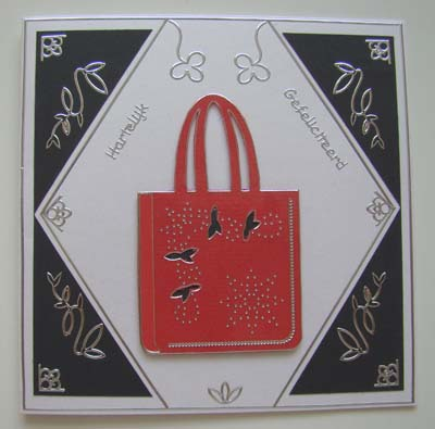 Dames tas rood