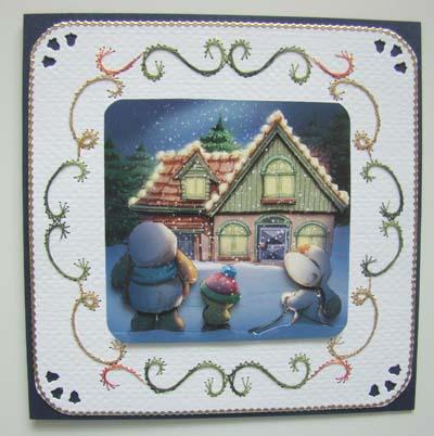 Kerst huis