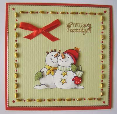 Sneeuwpop kraaltjes