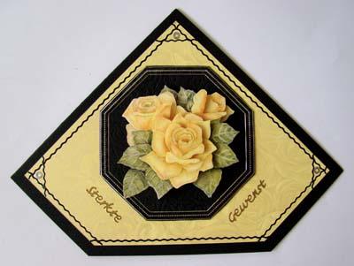 Sterkte gewenst gele rozen