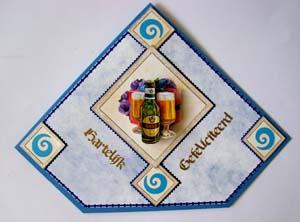 Bier blauwe kaart