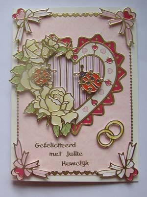 Huwelijk stickers