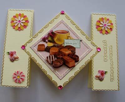 Bonbons met bloemetjes