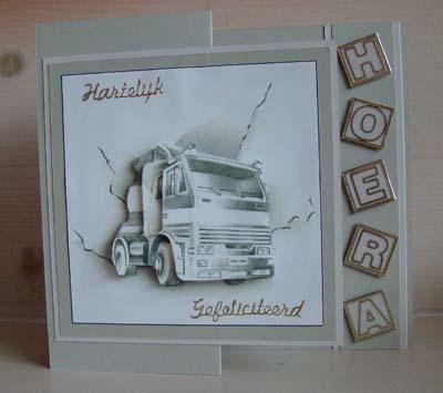 Vrachtwagen hoera
