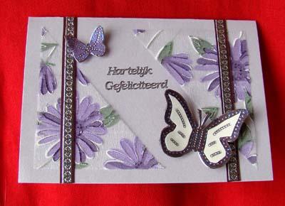 Vlinders met stof 1