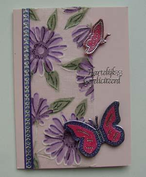 Vlinders met stof 9