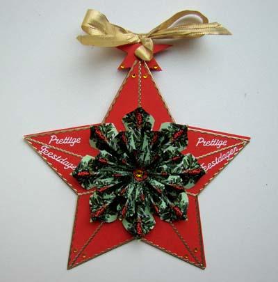 Kerstmandala 6