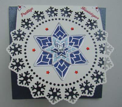 Kerst ornamentsticker 1
