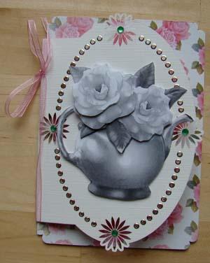 Zwart wit bloem 3